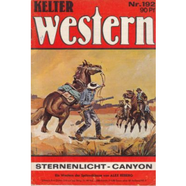 Kelter Kelter Western Nr.: 192 - Reberg, Alex: Sternenlicht - Canyon Z(1-2)
