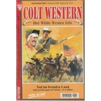 Kelter Colt Western - Der wilde Westen lebt Nr.: 27 - Wilken, U.H.: Tod im fremden Land Z(1-2)