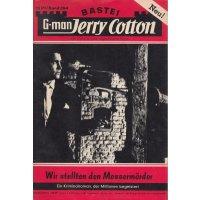 Bastei Jerry Cotton Nr.: 394 - Cotton, Jerry: Wir stellten den Messermörder Z(1-2)