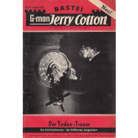 Bastei Jerry Cotton Nr.: 428 - Cotton, Jerry: Der Todes-Tresor Z(1-2)