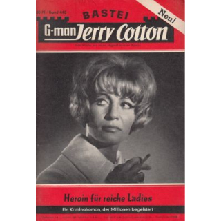 Bastei Jerry Cotton Nr.: 448 - Cotton, Jerry: Heroin für reiche Ladies Z(1-2)