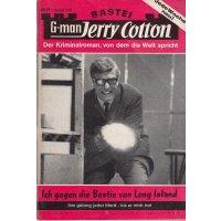Bastei Jerry Cotton Nr.: 528 - Cotton, Jerry: Ich gegen die Bestie von Long Island Z(1-2)