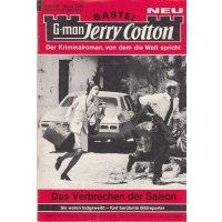 Bastei Jerry Cotton Nr.: 1329 - keine Angabe: Das Verbrechen der Saison Z(1-2)