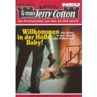 Bastei Jerry Cotton Nr.: 1764 - keine Angabe: Willkommen in der Hölle, Baby! Z(1-2)