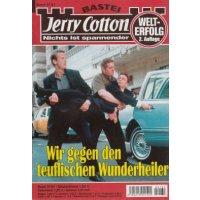 Bastei Jerry Cotton 2. Auflage Nr.: 2131 - keine Angabe: Wir gegen den teuflischen Wunderheiler Z(1-2)