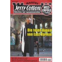 Bastei Jerry Cotton 2. Auflage Nr.: 2518 - keine Angabe: Die toten Augen von East Harlem Z(1-2)