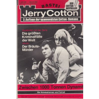 Bastei Jerry Cotton 3. Auflage Nr.: 392 - Cotton, Jerry: Zwischen 1000 Tonnen Dynamit Z(1-2)