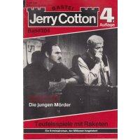 Bastei Jerry Cotton 4. Auflage Nr.: 304 - Cotton, Jerry: Todesspiele mit Raketen Z(1-2)