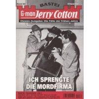 Bastei Jerry Cotton Classic-Ausgabe Nr.: 80 - Cotton, Jerry: Ich sprengte die Mordfirma Z(1-2)