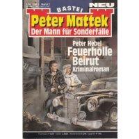 Bastei Peter Mattek Nr.: 2 - Hebel, Peter: Feuerhölle Beirut Z(1-2)