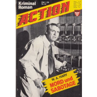 Kelter Action Nr.: 24 - Hary, W.A.: Mord und Sabotage Z(1)