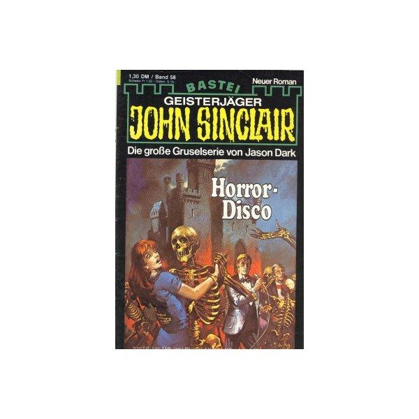 Bastei John Sinclair Nr.: 58 - Dark, Jason: Horror-Disco Z(2)