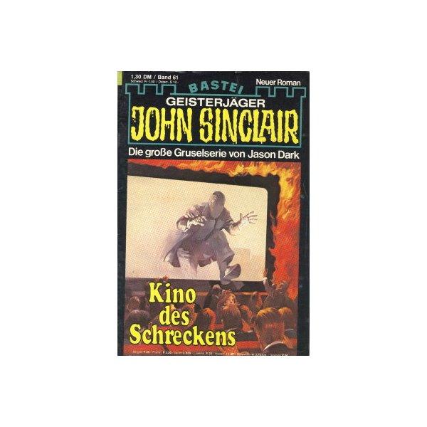 Bastei John Sinclair Nr.: 61 - Dark, Jason: Kino des Schreckens Z(2)