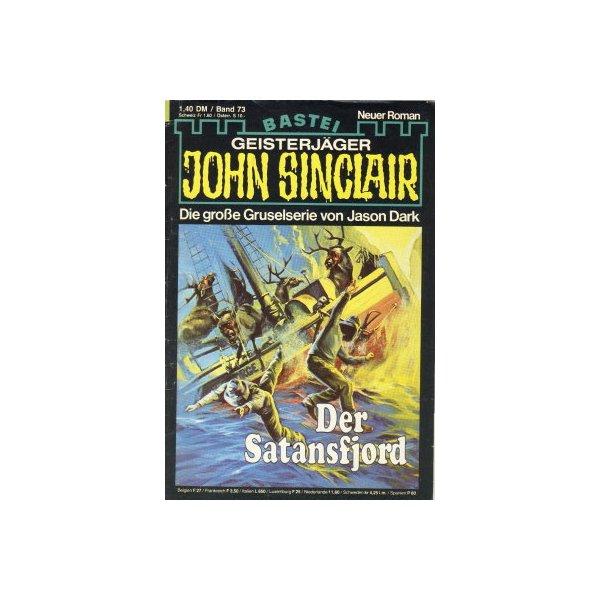 Bastei John Sinclair Nr.: 73 - Dark, Jason: Der Satansfjord Z(1-2)