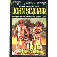 Bastei John Sinclair Nr.: 76 - Dark, Jason: Bills...