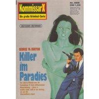 Pabel Kommissar X Nr.: 889 - Burton, George W.: Killer im Paradies Z(1-2)