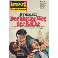 Pabel Kommissar X Nr.: 916 - McCoy, Steve: Der blutige Weg der Rache Z(1-2)