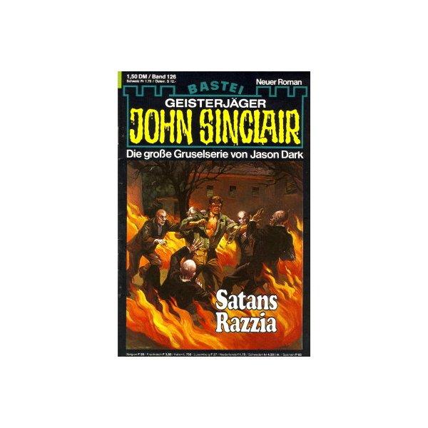 Bastei John Sinclair Nr.: 126 - Dark, Jason: Satans Razzia Z(1-2)