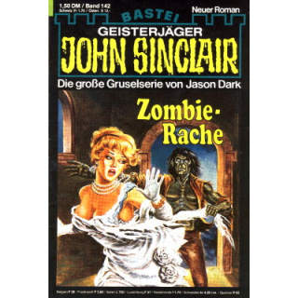 Bastei John Sinclair Nr.: 142 - Dark, Jason: Zombie-Rache Z(2)