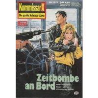 Pabel Kommissar X Nr.: 1517 - Brooks, Barney: Zeitbombe an Bord Z(1-2)