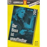 Pabel Kommissar X Krimi Auslese Nr.: 282 - Island, Bert F.: Der Boss ist unauffindbar Z(1-2)