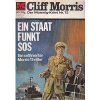 Moewig Captain Morris Nr.: 72 - ohne Angabe: Ein Staat funkt SOS Z(1-2)