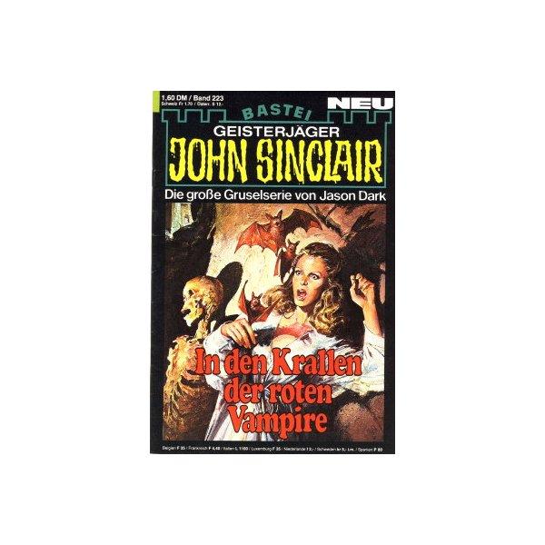 Bastei John Sinclair Nr.: 223 - Dark, Jason: In den Krallen der roten Vampire Z(1-2)