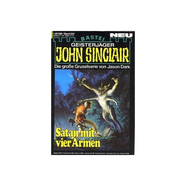 Bastei John Sinclair Nr.: 224 - Dark, Jason: Satan mit vier Armen Z(1-2)