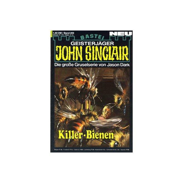 Bastei John Sinclair Nr.: 269 - Dark, Jason: Killer-Bienen Z(1-2)