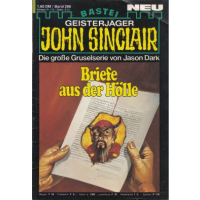 Bastei John Sinclair Nr.: 286 - Dark, Jason: Briefe aus...