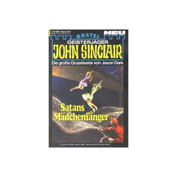 Bastei John Sinclair Nr.: 347 - Dark, Jason: Satans Mädchenfänger (1.Teil) Z(1-2)