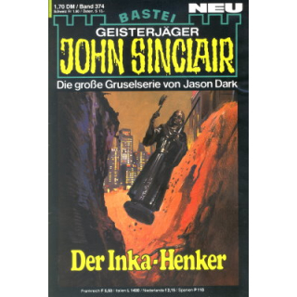 Bastei John Sinclair Nr.: 374 - Dark, Jason: Der Inka-Henker Z(1-2)