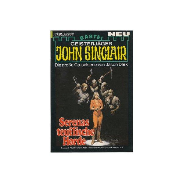 Bastei John Sinclair Nr.: 437 - Dark, Jason: Serenas teuflische Horde Z(1-2)