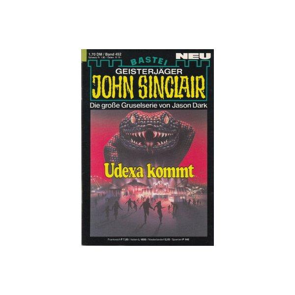 Bastei John Sinclair Nr.: 452 - Dark, Jason: Udexa kommt Z(1-2)