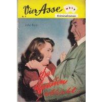 Vier Asse Verlag Vier Asse Kriminalroman Nr.: 9 - Burn, John: Das Grauen schleicht... Z(1-2)