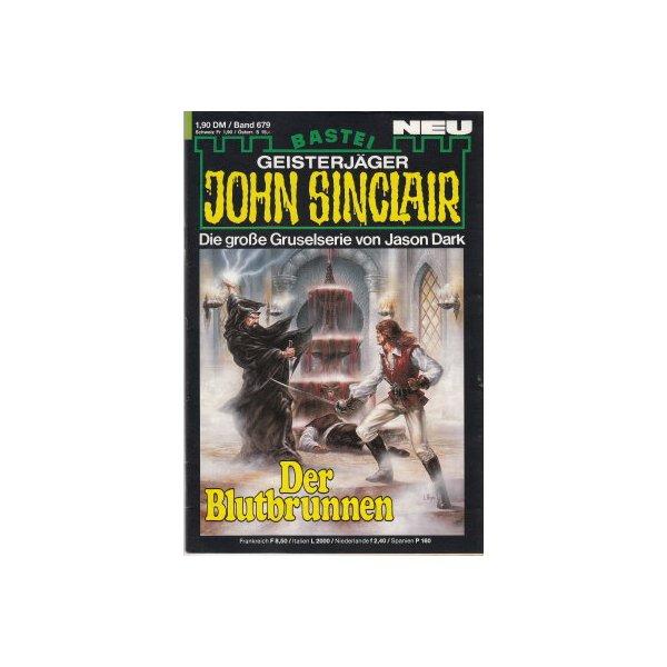 Bastei John Sinclair Nr.: 679 - Dark, Jason: Der Blutbrunnen Z(1-2)