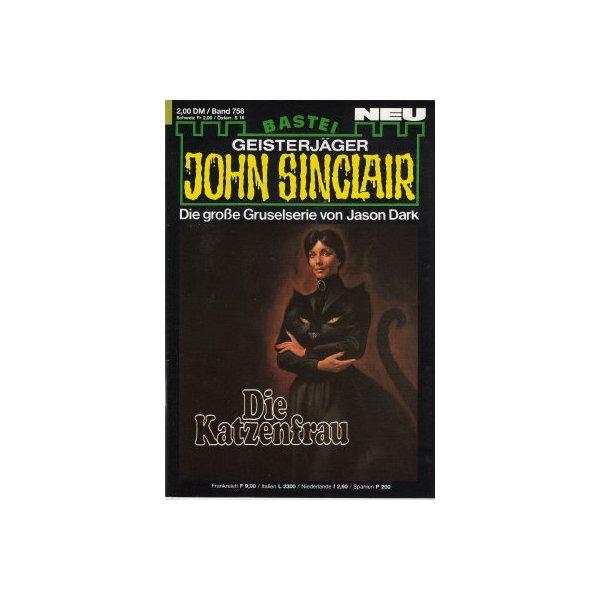 Bastei John Sinclair Nr.: 758 - Dark, Jason: Die Katzenfrau Z(1-2)