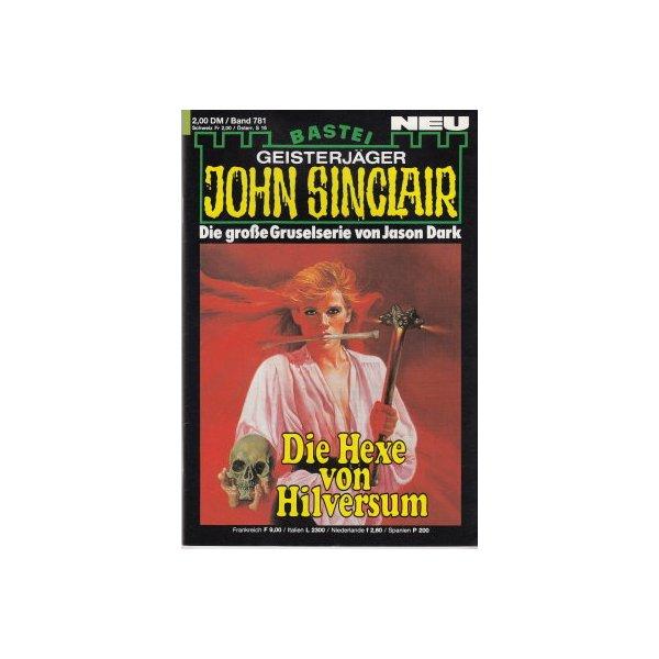 Bastei John Sinclair Nr.: 781 - Dark, Jason: Die Hexe von Hilversum Z(1-2)