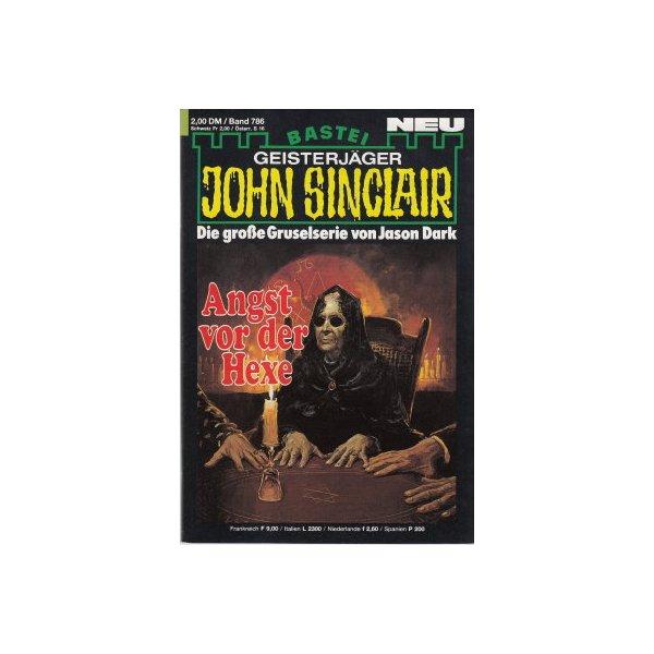 Bastei John Sinclair Nr.: 786 - Dark, Jason: Angst vor der Hexe (2. Teil) Z(1-2)