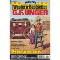 Bastei Western-Bestseller Nr.: 2353 - Unger, G. F.: Overland Line Z(1-2)