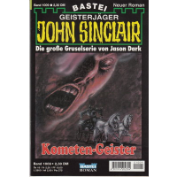 Bastei John Sinclair Nr.: 1009 - Dark, Jason: Kometen Geister Z(1-2)
