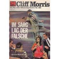 Moewig Captain Morris Nr.: 85 - ohne Angabe: Im Sarg lag der Falsche Z(2)