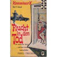 Pabel Kommissar X TB Nr.: 49 - Island, Bert F.: Flucht in den Tod Z(2-3)