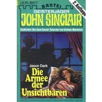 Bastei John Sinclair 2. Auflage Nr.: 13 - Dark, Jason: Die Armee der Unsichtbaren Z(2)