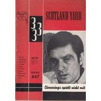 Hessel Verlag Scotland Yard 333 Nr.: 447 - Driving, Mac: Cummings spielt nicht mit Z(1-2)