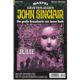 Bastei John Sinclair Nr.: 1269 - Dark, Jason: Julie Z(1-2)