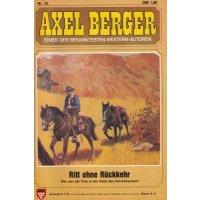 Kelter Axel Berger Nr.: 52 - Berger, Axel: Ritt ohne Rückkehr Z(1)