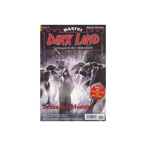 Bastei Dark Land Nr.: 15 - Grimm, Graham: Arena der Monster Z(1)