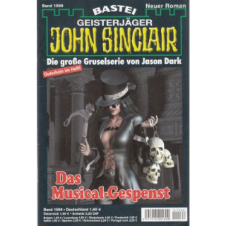 Bastei John Sinclair Nr.: 1566 - Dark, Jason: Das Musical-Gespenst Z(1-2)