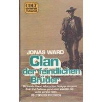 Pabel Colt Western TB Nr.: 33 - Ward,Jonas: Clan der feindlichen Brüder Z(1)